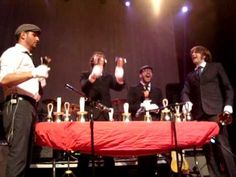OKGo and Handbells...how can I NOT love it! The form might not be great but still rocks!