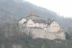 Didn't get inside this one but saw it from the town below, Lichtenstein.