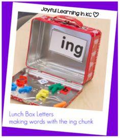 Joyful Learning In KC: Lunch Box Letter Books