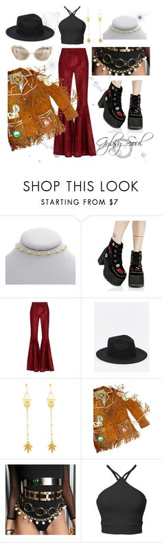"""Gybsy Soul"" by vidakushofficial ❤ liked on Polyvore featuring T.U.K., E L L E R Y, ASOS, Hazmat Design and Dolce&Gabbana"