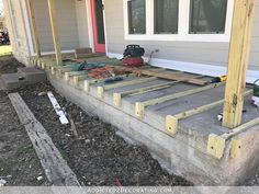Best How To Build A Porch Over Concrete Home Improvement 640 x 480