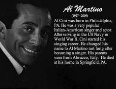Al Martino.    (1927 - 2009)