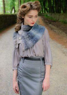 Louisa Harding knits