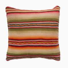 Just In from La Paz!  Vintage Rainbow Manta Pillows | Shop | Project Bly