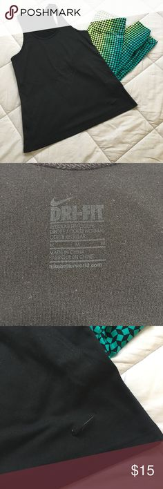 Nike DRI-FIT Tank Nike DRI-FIT tank - size medium. Lightly used. Nike Tops Tank Tops