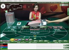 TABLE SUPER6 BACCARAT