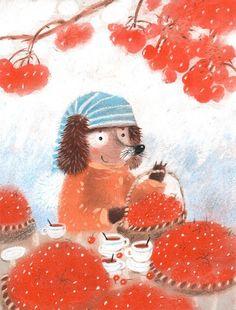 Иллюстрации художников, автор Диана Лапшина