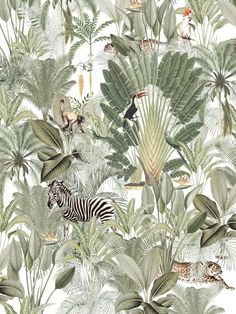Into the wild from Creative Lab Amsterdam - Power Trip, Bedroom Plants Decor, Plant Decor, Design Shop, Cute Wallpapers, Wallpaper Backgrounds, Flora Und Fauna, Estilo Tropical, Creative Labs