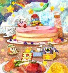 Kirby Cafe by NyanNyanSensei.deviantart.com on @DeviantArt