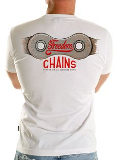 """Freedom Chains - new from Cycology .... """" The Paradox: a chain that frees us from the everyday ... yet binds us with our obsession and love of cycling"""", #freedom #cycology"""