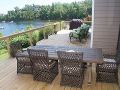 Lake House Memories is 4 Bath; on Lake Champlain - Plattsburgh Lake Champlain, Outdoor Furniture Sets, Outdoor Decor, New Kitchen, Family Room, Places To Go, Deck, Patio, Memories