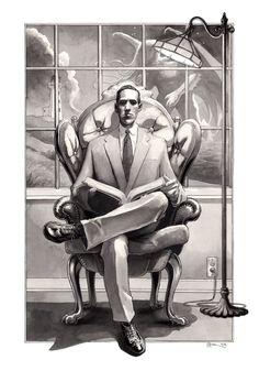 Lovecraft by DanielGovar on DeviantArt