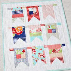 Fairground Mini Quilt Pattern   YouCanMakeThis.com