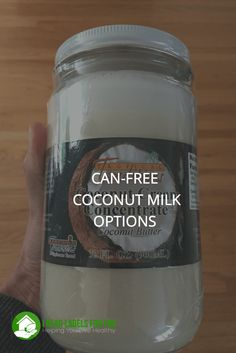 Can-Free coconut milk options