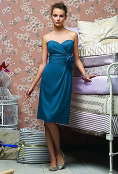 Bridesmaid Dresses in Every Shade of Blue | Wedding Dresses and Style | Brides.com | Brides.com