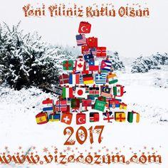 Yeni yılda sevdiklerinizle birlikte mutlu günler geçirmeniz dileğiyle..