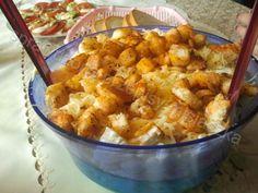 Sprawdzone Przepisy Misiaczka: Sałatka ukraińska Polish Recipes, Polish Food, Tortellini, Cauliflower, Macaroni And Cheese, Food And Drink, Healthy Eating, Lunch, Snacks