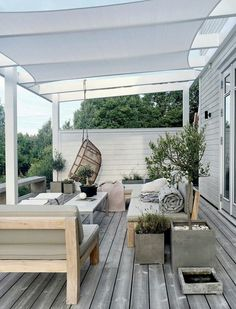 Pergola Attached To House Decks Home - Pergola Terrasse Suspendue - - Pergola With Roof Ideas - Contemporary Pergola DIY - Pergola De Madera Balcon Exterior Design, Outdoor Decor, Patio Design, Pergola Plans, Outdoor Design