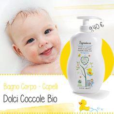 Dai laboratori #Qualikos un delicato BAGNO CORPO/CAPELLI per l'igiene quotidiana del tuo bimbo. #baby #madeinitaly