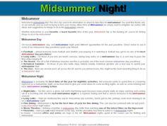Midsummer Midsummernight.org.uk