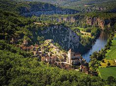 Saint-Cirq-Lapopie, Lot, Midi-Pyrénées