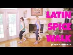 Just found this lady on YouTube and I love everything I've seen thus far!...Walking, Exercise, Zumba: Full Length 30-Minute Walking Workout - Latin ...