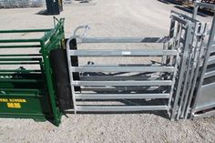Cattle Yard 3 Way Drafting Gate, inline position Cattle Panel Fence, Cattle Panels, Outdoor Chairs, Outdoor Furniture, Outdoor Decor, Livestock, Metal, Inline, Fencing