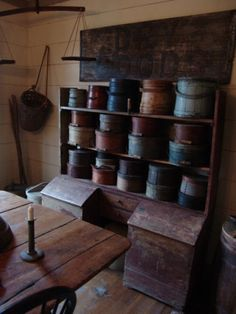Firkins and pantry boxes...❤️