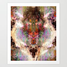 Walking into Nothing Art Print by Work the Angle - $17.00