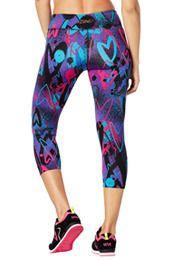 Zumba Love Perfect Capri Leggings | Zumba Wear  Click to shop with 10% discount http://www.zumba.com/en-US/store/US/affiliate?affil=10sale
