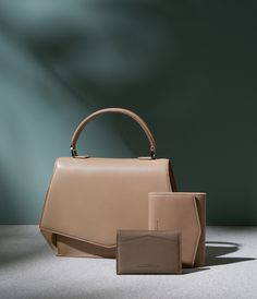 Accessories, leather goods. Love the subtle color, with maybe addition of a pop of color.
