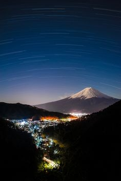I remember seeing this. One of the best moments of my life.  River of light - Mt. Fuji, Shizuoka, Japan
