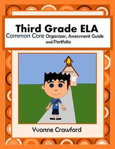 The Common Core Organizer, Assessment Guide and Portfolio for Third Grade English Language Arts is full of tools that you can use to teach and assess third grade Common Core ELA skills to your class throughout the school year. $