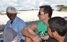 Radu Mazăre pe vremea când stătea fără griji în Madagascar