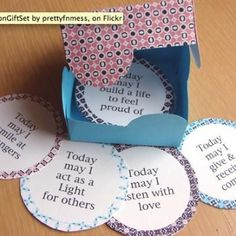 PRINTABLE AFFIRMATION GIFT SET