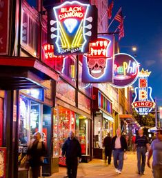 "In the 1960s, Beale became run down and many stores closed, although the section of the street from Main to 4th was declared a National Historic Landmark in 1966. Congress officially declared Beale Street the ""Home of the Blues."" The area's revival began in the 1908s and continues to this day."