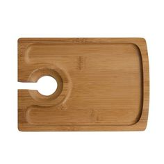 "Symple Stuff 7"" Bamboo Appetizer Plate"