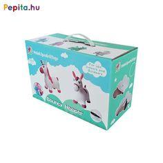 Gumiból készült, felfújható rózsaszín unikornis ugrálófigura. Kül- és beltéren egyaránt használható. A rózsaszín unikornis ugrálófigura magassága 52 cm , hossza 60 cm , ülésmagassága 23 cm . Maximális terhelhetősége 20 kg. 2 éves kortól ajánljuk. A csomagolás tartalmaz 1 db pumpát is. Decorative Boxes, Container, Decorative Storage Boxes, Canisters