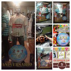 ALMACEN OPORTO: Quinto Aniversario  Almacén Oporto Cartago 2.009-2-014 #ModaMasculinaParaHombresCaballeros