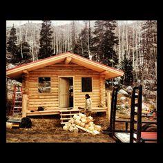 Miniature Log Cabin Kit by NobleCabinWorks on Etsy 13400