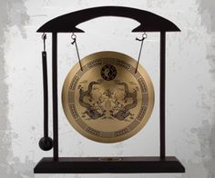 Zen Art Brass Desktop Gong