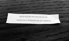 Fortune Cookie Wisdom
