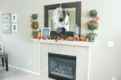 My Fall Mantle this year