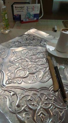 Aluminum repousse
