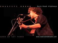 """Chastity Brown performing """"When We Get There"""" live via cdmusicnetwork."""