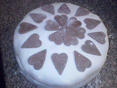Marcipános gesztenyekrémes torta
