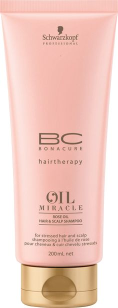 The shampoo is formulated especially for use in conjunction with the Oil Miracle Rose Oil Hair & Scalp Treatment, to eliminate an excess of oil from the hair whilst protecting its delicate balance. Description from escentual.com. I searched for this on bing.com/images