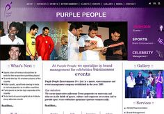 www.ppeople.in - website of an event management company. Designed and developed by Echo (www.ieecho.com)