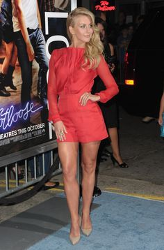 """Actress Julianne Hough arrives to the premiere of Paramount Pictures' """"Footloose"""" on October 3, 2011 in Los Angeles, California."""