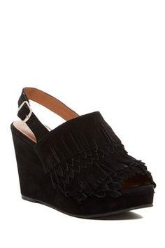 550729415b67 Jeena Fringe Platform Wedge Sandal Platform Wedge Sandals